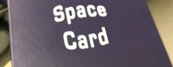 Space Card! Or how I learned to love small Take That Games
